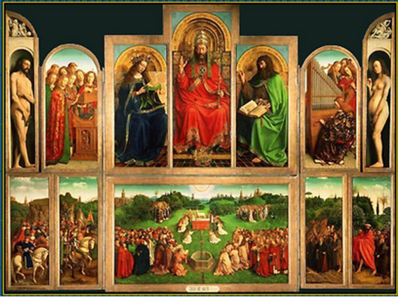 Genter Altar Bild 1