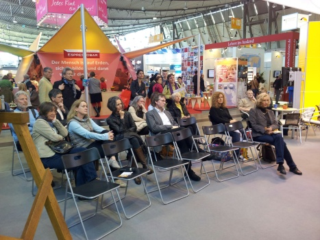 Publikum Herr Kampmann Vortrag