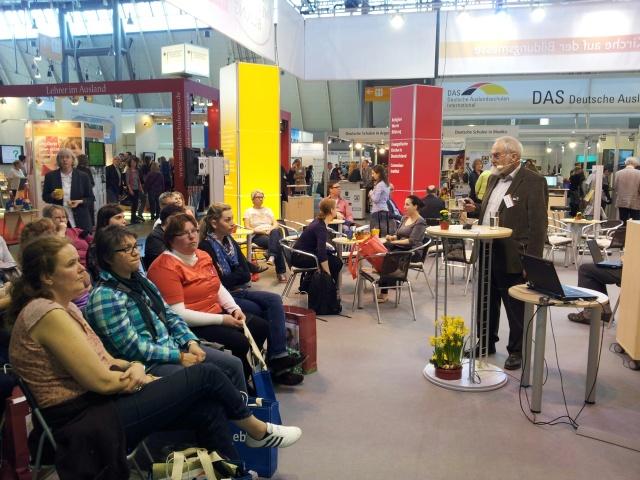 Vortrag Biesinger und Publikum