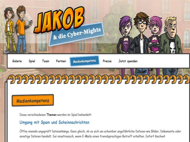 Jakob und die Cyber Mights